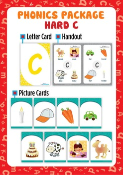 Hard 'C' Phonics Resource Package