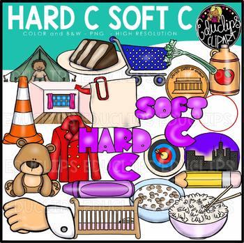 Hard C Soft C Clip Art Bundle