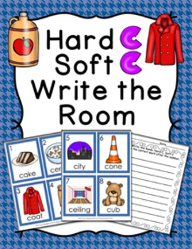 Hard C Soft C Words Write the Room
