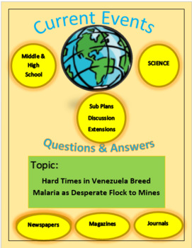Current Events Science:Hard Time in Venez. Breed Malaria D