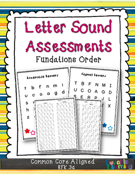 Letters & Sounds Assessment