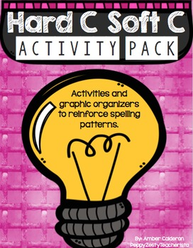 Hard and Soft C Spelling rules activity pack