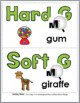 Hard and Soft G Sorting plus Worksheets & Posters - Set 1