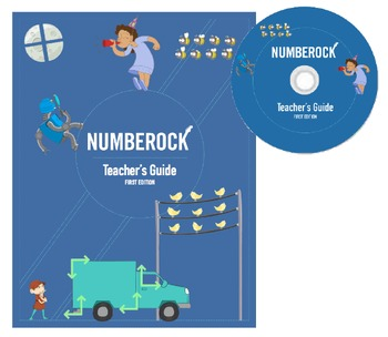 Hardcopy NUMBEROCK Workbook and DVD