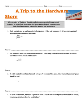 Hardware Store Conversions