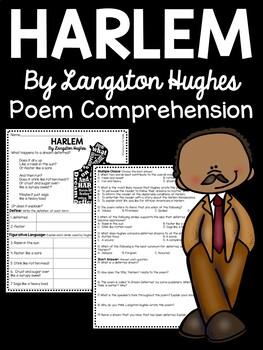 Harlem A Dream Deferred by Langston Hughes Poem Reading Co