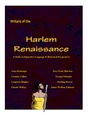Harlem Renaissance: Figurative Language and Historical Per