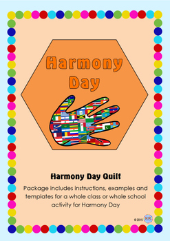 Harmony Day Everyone Belongs Celebration Quilt - Cultural