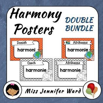 Harmony Posters A4 BUNDLE