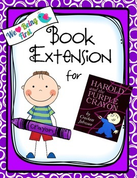 Harold and the Purple Crayon:  Back to School Book Extensi