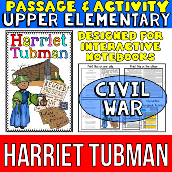 Harriet Tubman Biography Reading Passage: Interactive Note