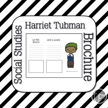 Harriet Tubman Brochure