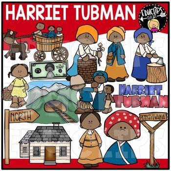 Harriet Tubman Clip Art Bundle