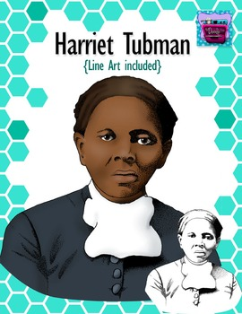 Harriet Tubman Clipart - Realistic Image