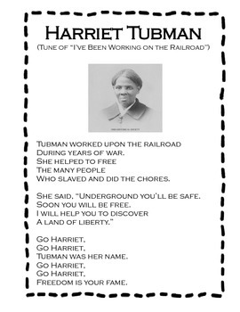 Harriet Tubman Song