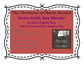 Harris Burdick (Archie Smith, Boy Wonder) Close Reading Questions