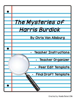 Harris Burdick Writing Template