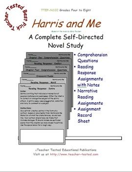 Harris and Me: A Complete Novel Study