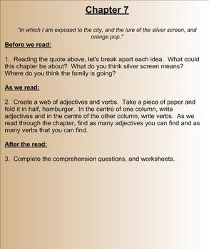 Harris and Me - A Smartboard Novel Study