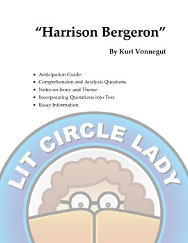 Harrison Bergeron - Lessons Including Final Essay