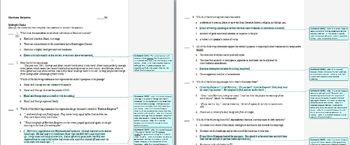 Harrison Bergeron by Kurt Vonnegut: Common Core study guid