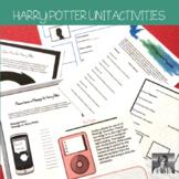 Harry Potter: 9 No-Prep ELA Activities Perfect for any Har