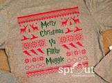 Harry Potter Christmas 'Sweater'-Actual Shirt!