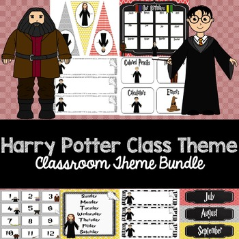 Harry Potter Classroom Theme