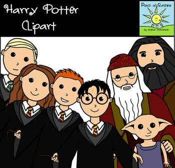 Harry Potter Clip Art *Patch of Sunshine*