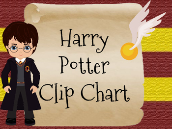 Harry Potter Clip Chart