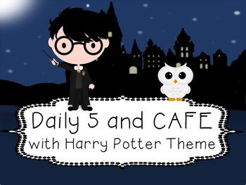 Harry Potter Daily 5 and CAFE Poster set