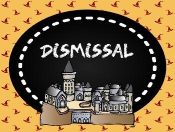 Harry Potter Dismissal Chart