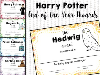 Magical End of the Year Awards