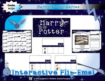 Harry Potter Interactive Flip-Ems