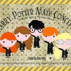 Harry Potter Math Concepts Review: A Math Quest
