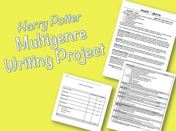 Harry Potter Multigenre Assignment