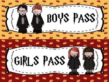 Harry Potter Passes