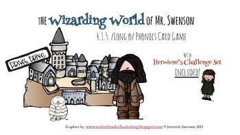 Harry Potter Themed Classroom - 4.1.5. /long o/ Phonics Card Game