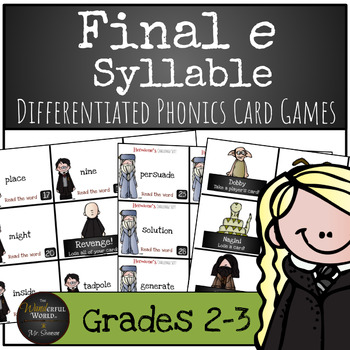 Harry Potter Themed Classroom - 4.2.2. Consonant Clusters