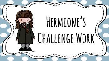 Harry Potter Themed Classroom - Classroom Poster Set
