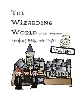 Harry Potter Themed Classroom - Reading Response Logs