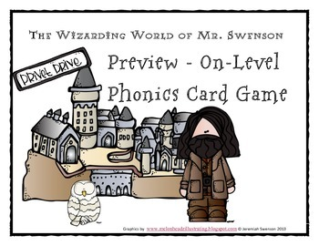 Harry Potter Themed Classroom - Unit 5 Phonics Card Games