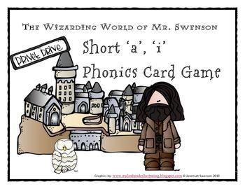Harry Potter Themed Classroom - Grade 2 Unit 1 Phonics Card Games