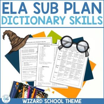 Harry Potter Themed Emergency Sub Plan – ELA – 9th/10th –