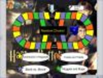 Harry Potter Trivial Pursuit SmartBoard Game