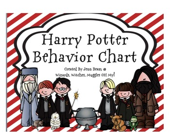Harry Potter Wizard Behavior Clip Chart