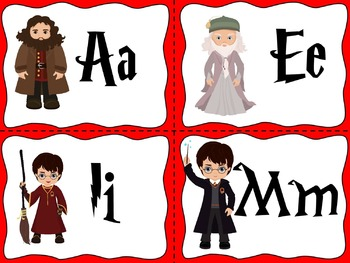 Harry Potter Word Wall Cards