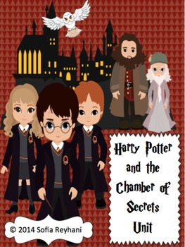 Harry Potter and The Chamber of Secrets Novel Unit {Common
