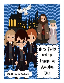 Harry Potter and The Prisoner of Azkaban Novel Unit {Commo