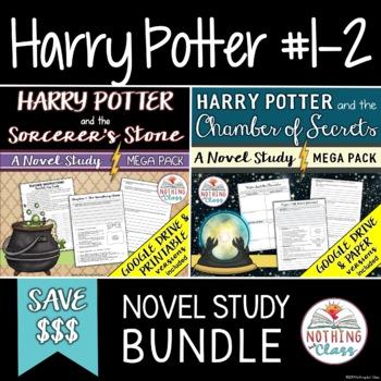 Harry Potter Novel Study Unit Bundle (Sorcerer's Stone and